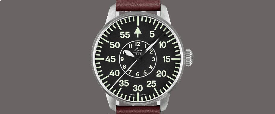 B-Uhr LACO Aachen - Montre aviateur Type B