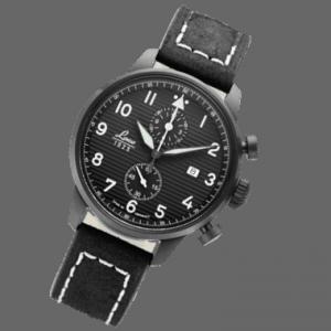 Chronographe pilote LACO Lausanne Flieger Type C