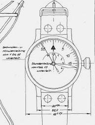 B-Uhr dessin