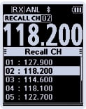 ICOM IC-A25 Spécial