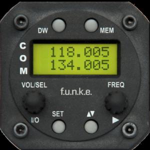 f.u.n.k.e. VHF ATR833S vue de face