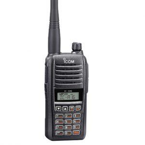 ICOM A16E radio 8.33